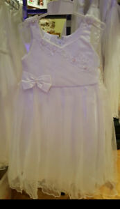 New communion and flower girl dresses size 6