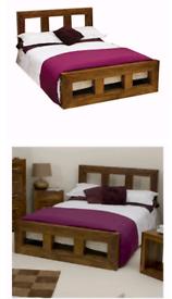 Cuba sheesham rosewood bedroom furniture