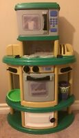 Plastic play kitchen --- MAKE AN OFFER!