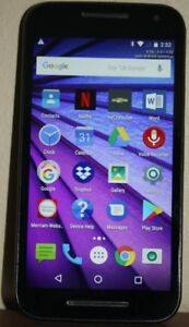 MOTO G THIRD GENERATION CELL PHONE