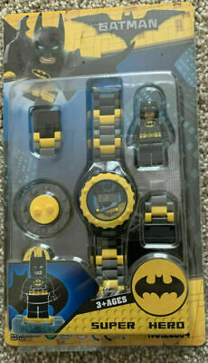 Electric Watch Kids SuperHero Toys Gift Boys 2 3 4 5 6 7 8 9 Year Old Age Xmas