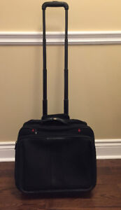 """Swiss Army Wheeled Brief Case Fits 15.6"""" Laptop Computer"""