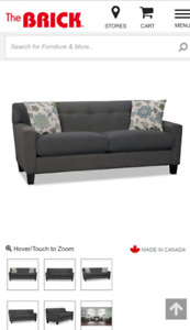 Condo Sized Couch and Chair