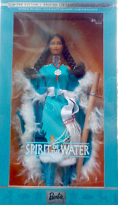 Spirit of the Water Barbie Doll 2002 Native Spirit Collection
