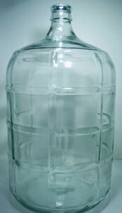 Glass Water Jugs, Stoppers and Carboys
