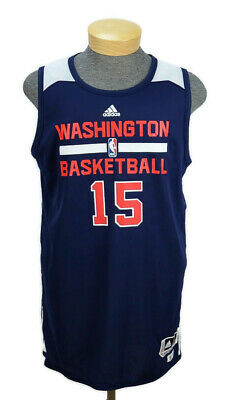 adidas Mens Washington Wizards NBA Reversible Practice Jersey Size XL+2 Blue