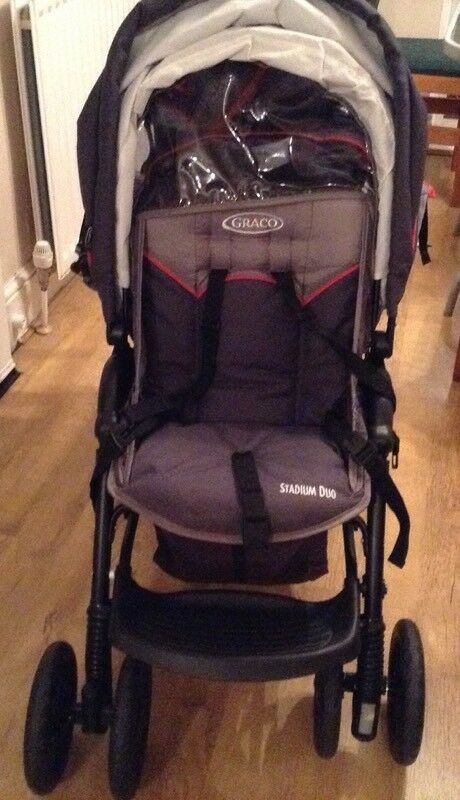 Graco Double pushchair buggy