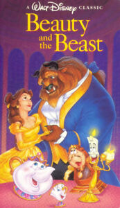 DISNEY Videos - Beauty and the Beast Black Diamond - 63 cents ea