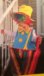 Adorable Kids clown costumes
