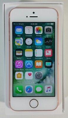 Apple iPhone SE Straight Talk locked 16GB • BRAND NEW • Prepaid Smartphone