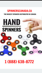 The biggest Spinners distributor in CANADA