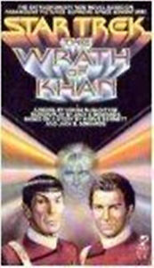 STAR TREK SOFTCOVER BOOK - THE WRATH OF KHAN