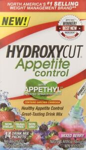 3 BOXES Hydroxycut Appetite Control Weight Loss Supplement