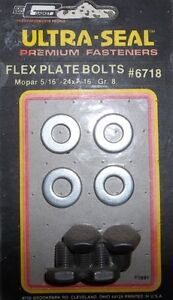 1 SET OF MR GASKET #6718 DODGE FLEX PLATE BOLT KIT
