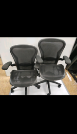 Herman miller Aeron Size B fully loaded (free delivery)