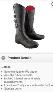 Motorcycle boots ladies size 7 $160