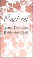 Rachael professional mobile hairstylist