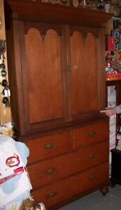 Scotland 1870's Linen Press Cupboard Larder