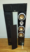 Home theatre speakers - Large format, quality for cheap. 225$