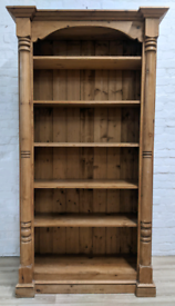 Corinthian Style Bookcase (DELIVERY AVAILABLE)