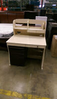 Brand New Computer Table with hutch, shelves and cabinet