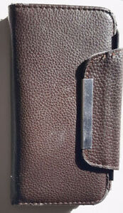 Samsung S7 Xtreme folding wallet case with magnet tab