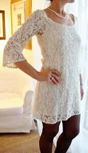 Brand New American Eagle White Lace Dress Size Medium