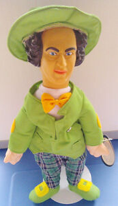 THREE STOOGES 'IRISH LARRY FINE' St. Patrick's Day Plush Figure