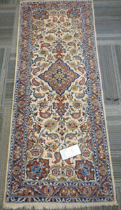 20242-Isfahan Hand-knotted/Handmade Persian Rug
