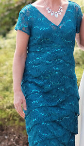 Mother of the Bride dress, Teal