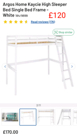 Kaycie high sleeper only £120. RBW Clearance Outlet Leicester City Cen