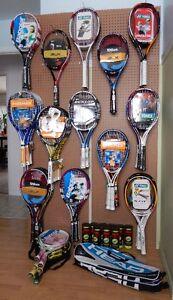 Lot de raquettes de tennis NEUVES, Wilson, Head, Yonex ... Québec City Québec image 1
