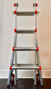 Little Giant MegaLite foldable ladder