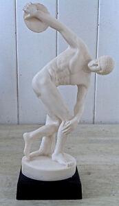 Oeuvre d'art Collection Sculpture Lanceur javelot signée R Leoni