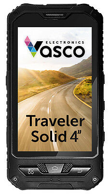 Vasco Traveler Solid 4: Waterproof Mobile Device for Travelers, Voice Translator