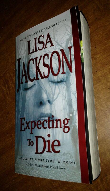Expecting to Die by Lisa Jackson  Paperback Book 2017 1st printing