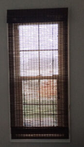 Like new brown Blinds