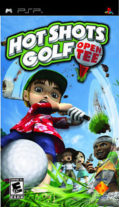 Selling Hot Shots Golf Open Tee video game for PSP