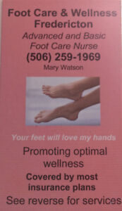 FOOT CARE By Mary Watson