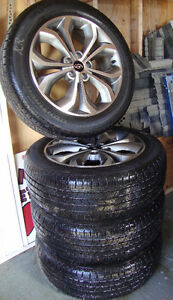 4 Tires and Hyundai Alloy Rims St. John's Newfoundland image 3