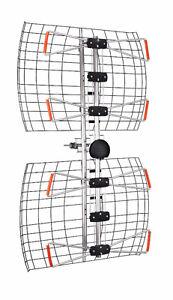 ANTENNA DIRECT DB4E AND DB8E, C4, C2V HD UHF/VHF TV ANTENNAS