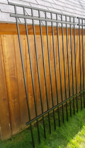 New 1/2 Panel of Iron Fencing / Wrought Iron Fence