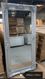 Brand new boxed 200 by 100cm mirror