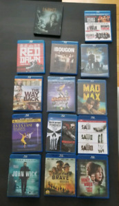 Films bluray DVD collection
