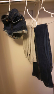 Women's Bottoms Lot Only $90