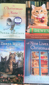 Clean and gentle used books for cat lovers!