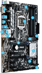 Asus Z270-P Z270 Motherboard - Works perfectly