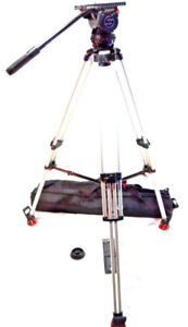 Sachtler VIDEO 20P DA Tripod Mid Level 7007 NEW BAG PLATE BAR SE