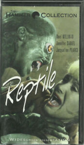 VHS THE REPTILE vhs Anchor Bay clamshell THE HAMMER COLLECTION