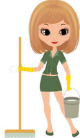 K&K  House cleaning professional clean great rates . Always